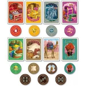 Cartas y monedas Jaipur- La gaceta de los tableros