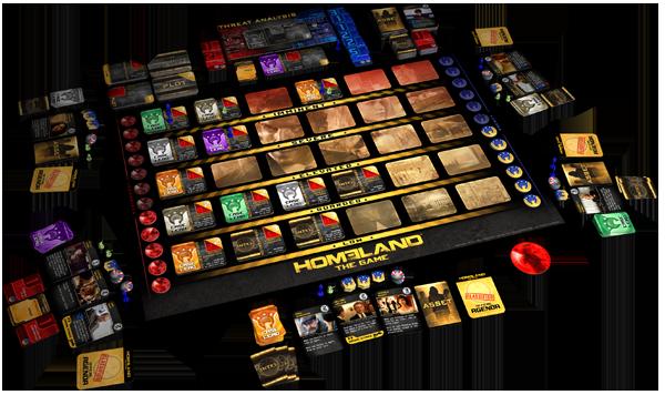 Homeland-componentes