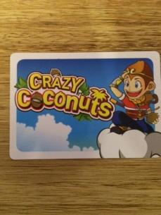 crazy coconuts-lagacetadelostableros