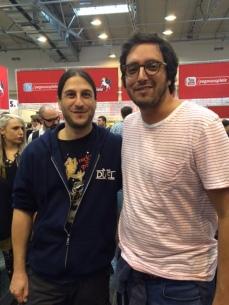 Con Antoine Bauza