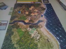 Mapa de Guadalcanal