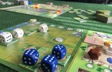 Playing-Santa-Maria-Board-Game